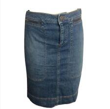 Marc Jacobs $188 Zip Around Pocket Denim Mini Skirt Size 4 EUC Medium Wash