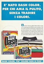 X7274 Dash Color - Pubblicità 1992 - Advertising