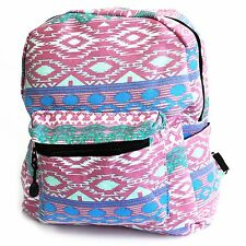 Small Backpack - Fabric Rucksack Bag Picnic School College Mandala Jazz