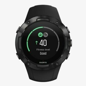 Suunto 5 All Black Compact GPS Sports Watch with Great Battery Life