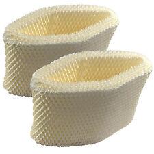 2-Pack HQRP Wick Filter fits Honeywell HCM-890 HCM-890B HEV320 HEV320B HEV320W