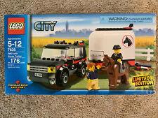 años Lego City 2 en 1 Paquete De Pascua cosechadora de transporte y cargador de 5