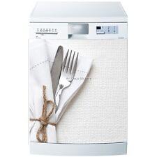 Magnet lave vaisselle Couverts 60x60cm réf 593 593