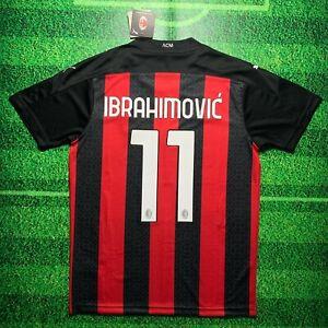 Zlatan Ibrahimovic #11 AC Milan 2020/21 Home Kit