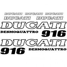 ADHESIVO PEGATINA - AUFKLEBER ADESIVI -  Ducati 916 desmo Réf-MOTO-027