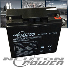 Neuton Power NP12170 12V 17Ah AGM Sealed Lead Acid Battery equiv size 18Ah 20Ah