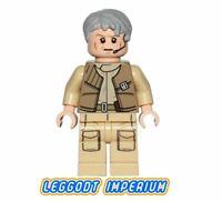 LEGO Minifigure Star Wars General Airen Cracken - sw557 Minifig FREE POST