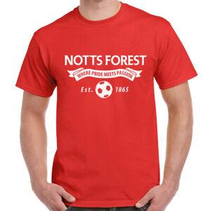 Notts Forest Fan Adult T Shirt Football Unofficial Merch Gifts For Men Present