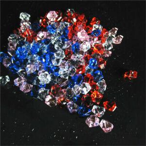 150~900x Acrylic Crystal Ice Rock Stones Aquarium Vase Gems Table Wedding Decor