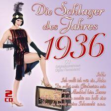 DIE SCHLAGER DES JAHRES 1936 2 CD NEUF