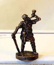 KINDER SURPRISE Egg Toy - Metal Figure SOLDIER VIKING - CHOCOLATE EGG - #9