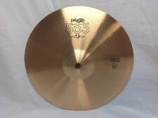"Paiste 505 13"" Ride Cymbal/Vintage Cymbal/New With Warranty"