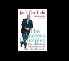 The Success Principles the Hardcover classic book by Jack Canfield FREE SHIPPING