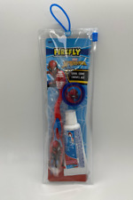 New Firefly Transformers Travel Toothbrush Toothpaste
