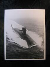 Vintage US Navy 8 x 10 Press Photo USS John Marshall SSB (N) 611 Scotland 039