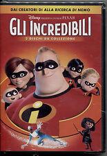 GLI INCREDIBILI - DISNEY DVD SLIPCASE, NUOVO, SIGILLATO, PRIMA STAMPA ITALIANA