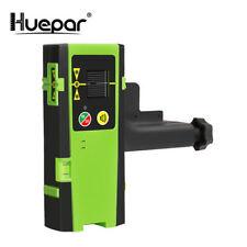 Huepar LCD Numérique Récepteur Laser En Plein Air Mode Détecteur Laser Pulsé Dét