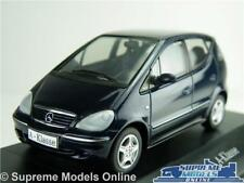 MERCEDES BENZ A CLASS MODEL CAR BLUE 1:43 SCALE SCHUCO CLASSE B66961926 K8