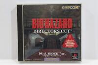 Bio Hazard Director's Cut Dual Shock Resident Evil PS1 PS 1 Japan Import P1245