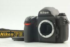 【Top Mint】 NIKON F6 35mm SLR Film Camera Black Body Only from Japan #123