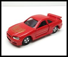 TOMICA 30th 20 NISSAN SKYLINE GT-R R34 1/61 RED TOMY DIECAST CAR