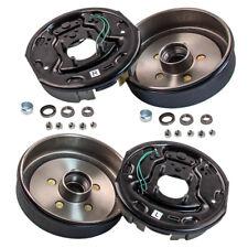 "Trailer 5 On 4.5 Hub Drum Brake Kit 10X2-1/4"" Electric Brakes LH RH Fit 3500lbs"
