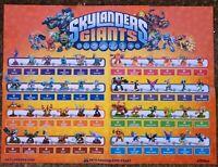 Skylanders Giants Figures Buy 4 get 2 FREE! Free Shipping $6 Minimum