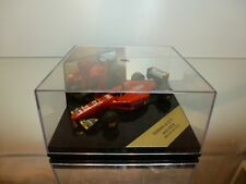 GÖDE FERRARI 412 T1 - F1 JEAN ALESI #27 - RED 1:43 - EXCELLENT IN BOX