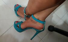 Scarpe donna SANDALI usati TACCO ZOCCOLI SEXY HIGH HEELS zoccoli tacco 15