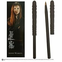 Noble Collection Harry Potter Wand Pen And Bookmark of Ginny Weasley, nn7986