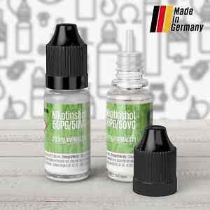 Nikotin Shots 20mg 5 10 25 50 100x 200x Shot Base für e Liquid 50/50 70/30 PG VG