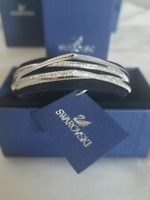 Swarovski Crystal Bangle Bracelet White 5269567 *NEW* with box and tags