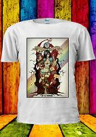 Disney Alice Wonderland Zombieland T-shirt Vest Tank Top Men Women Unisex 2260