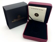 2012 Royal Canadian Mint $200 Gold Coin Empty Red Leather Box & COA