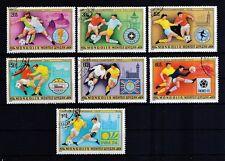 Mongolei 1978 gestempelt MiNr. 1148-1154  Fußball WM Argentinien