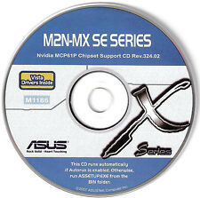ASUS M2N-MX SE Motherboard Drivers Installation Disk M1186