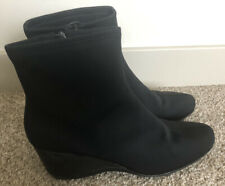 Women's Black Impo Stretch Boots Booties - Size 8