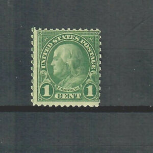 US Scott # 578, MINT with Fine Centering and Light Hinging! SCV $75.00