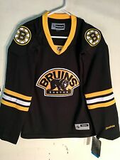Reebok Women's Premier NHL Jersey Boston Bruins Team Black Alt sz M