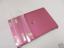BRAND NEW DELL STUDIO 1555 1557 1558 LCD PINK BACK COVER W/POWER BUTTON   WKKVV