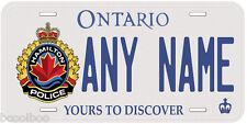 Hamilton Police Canada Any Name Number Novelty Car Auto License Plate