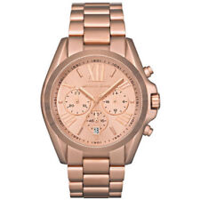 Michael Kors Bradshaw Chronograph Womens Watch MK5503 Salmon Dial