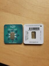 More details for 0.01g .999 fine gold bullion bar. solid pure 24k gold for investment/gift