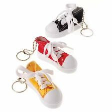 2 MINI SNEAKER KEY CHAINS BIRD PARROT FOOT TOY PARTS - FUN - KIDS - PARTY FAVOR