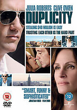Duplicity  DVD Julia Roberts, Clive Owen, Paul Giamatti