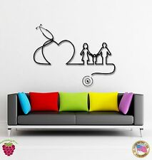 Wall Stickers Vinyl Decal Hospital Doctors Family Heart Health  (z1820)