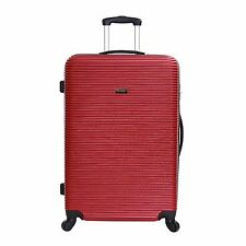 Extra Large Small Cabin Hard Shell Travel Trolley Hand Luggage Suitcase Bag Case Graphite XL 76 Cm
