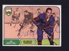 1968 Topps #40 Eddie Royal Signed Auto Autographed Card Kings JC LOA *528641