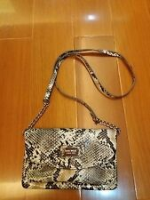 Authentic Nine West Faux Snake Skin Sling Bag/Clutch