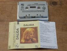DALIDA - J'ATTENDRAI - SONOPRESSE - IS 139713  !!RARE ! TAPE / K7